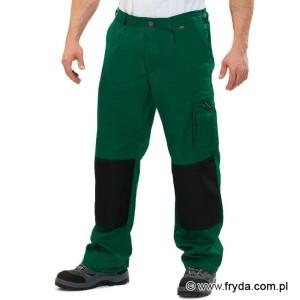2bd71a3d38c2bc Spodnie robocze do pasa WORK - kolor zielony ...