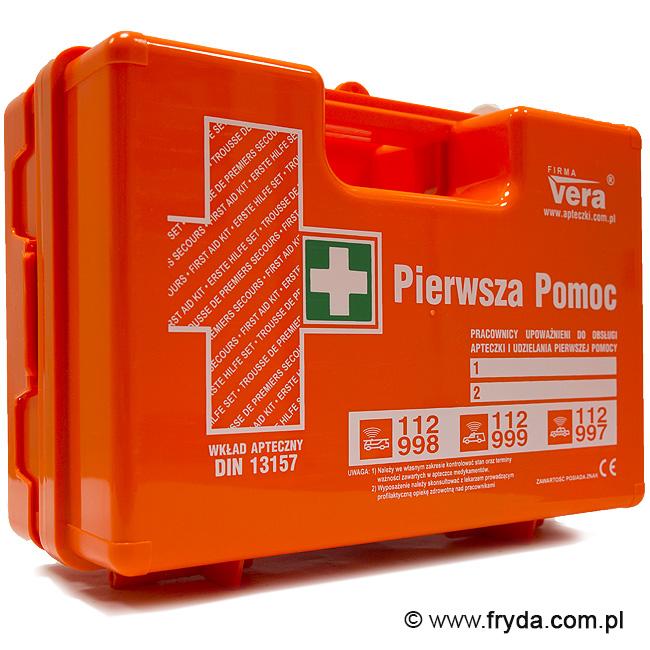 Przemysłowa apteczka pierwszej pomocy DIN 13157 PLUS