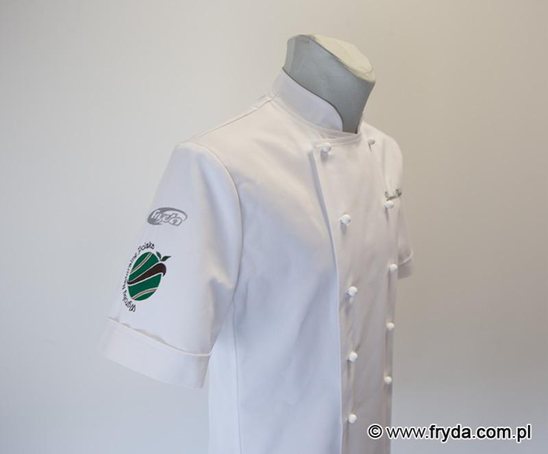 bluza kucharska męska z nadrukiem