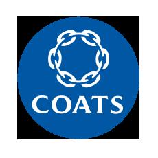 COATS - nici wiodącego producenta i dystrybutora nici na całym świecie, które stosuje się tylko do produkcji najwyższej klasy wyrobów.
